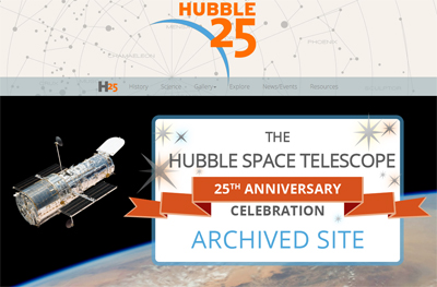 Hubble Space Telescope Celebrated Its 25-year Anniversary